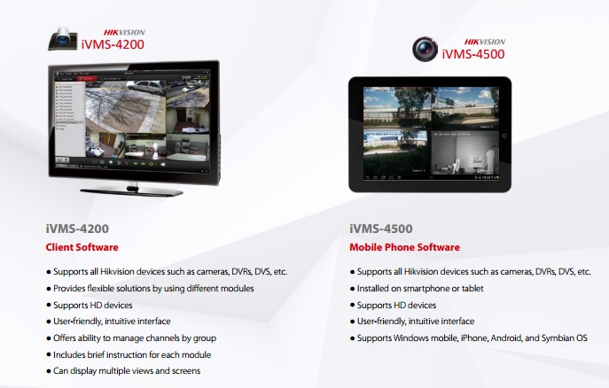 Hikvision Software